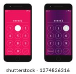 pass code interface for lock...
