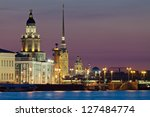 the iconic view of st....   Shutterstock . vector #127484774