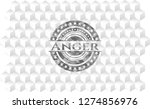 anger grey emblem with... | Shutterstock .eps vector #1274856976