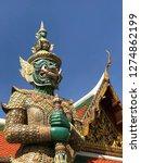 bangkok thailand     generator  ... | Shutterstock . vector #1274862199