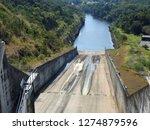 river dam in thailand | Shutterstock . vector #1274879596