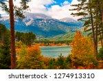 Picturesque Autumn Landscape I...
