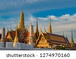 grand palace and wat phra keaw... | Shutterstock . vector #1274970160
