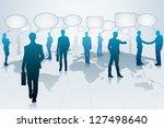 easy to edit vector... | Shutterstock .eps vector #127498640