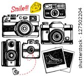photo cameras | Shutterstock .eps vector #127502204