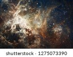 nebula an interstellar cloud of ... | Shutterstock . vector #1275073390
