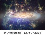 nebulae an interstellar cloud... | Shutterstock . vector #1275073396