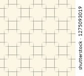 seamless square pattern.... | Shutterstock .eps vector #1275093019