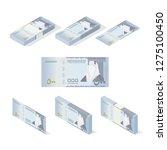 riyal saudi arabia banknote... | Shutterstock .eps vector #1275100450