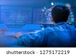engineering works with the... | Shutterstock . vector #1275172219