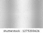 black and white halftone vector.... | Shutterstock .eps vector #1275203626