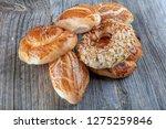 turkish pastry product   tasty... | Shutterstock . vector #1275259846