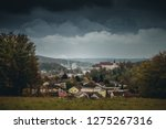 german landscape with the city... | Shutterstock . vector #1275267316