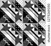 seamless geometric pattern in... | Shutterstock .eps vector #1275269350