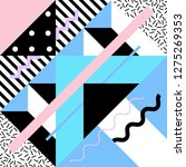 seamless geometric pattern in... | Shutterstock .eps vector #1275269353