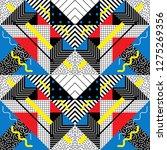 seamless geometric pattern in... | Shutterstock .eps vector #1275269356