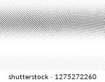 black and white halftone vector.... | Shutterstock .eps vector #1275272260