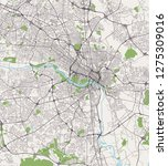 vector map of the city of... | Shutterstock .eps vector #1275309016