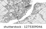 vector map of the city of...   Shutterstock .eps vector #1275309046