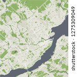 vector map of the city of...   Shutterstock .eps vector #1275309049