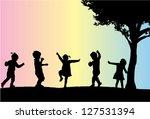 etkin,çift,dans,çimen,mutlu,çocuk,oyun,duruş