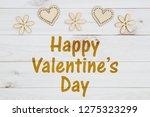 happy valentine's day greeting...   Shutterstock . vector #1275323299