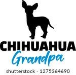 chihuahua grandpa silhouette in ...   Shutterstock .eps vector #1275364690