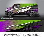 cargo van graphic vector....   Shutterstock .eps vector #1275380833