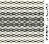 seamless halftone wallpaper.... | Shutterstock .eps vector #1275393916