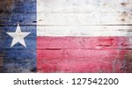 Flag Of The State Of Texas...