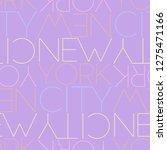 new york city  usa seamless... | Shutterstock .eps vector #1275471166