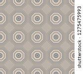vibrant hexagon seamless... | Shutterstock .eps vector #1275475993
