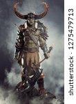 Savage Orc Brute Leader Posed...