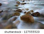 Long Exposure Shot Of A River...