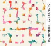 template seamless abstract...   Shutterstock .eps vector #1275578740