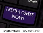 writing note showing i need a...   Shutterstock . vector #1275598540