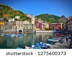 cinque terre vernazza | Shutterstock . vector #1275600373