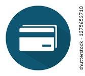 vector money cards icon. bank... | Shutterstock .eps vector #1275653710