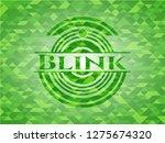 blink green emblem. mosaic... | Shutterstock .eps vector #1275674320