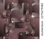 seamless vector pattern.... | Shutterstock .eps vector #1275679483