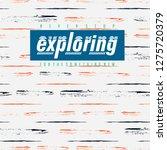 exploring graphic design...   Shutterstock .eps vector #1275720379