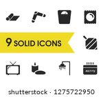 healthy icons set with...