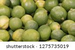 fresh lemons from recife ... | Shutterstock . vector #1275735019
