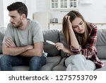 girl having learnt she is...   Shutterstock . vector #1275753709