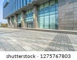 modern office building outdoors ... | Shutterstock . vector #1275767803
