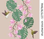 seamless vector illustration...   Shutterstock .eps vector #1275787846
