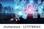web security protection... | Shutterstock . vector #1275788563