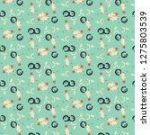 halftone color texture... | Shutterstock . vector #1275803539