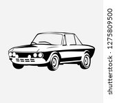 car classic vector logo | Shutterstock .eps vector #1275809500