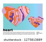 heart. saint valentine's day.... | Shutterstock .eps vector #1275813889